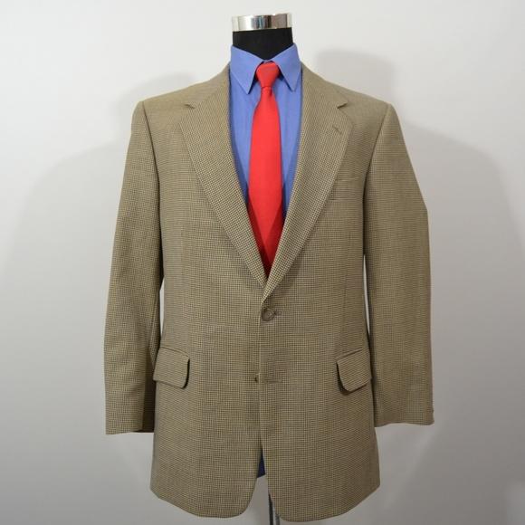 Alan Flusser Other - Alan Flusser 42R Sport Coat Blazer Suit Jacket Bei